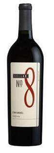 Cellar No. 8 Zinfandel 750ml - Case of 12
